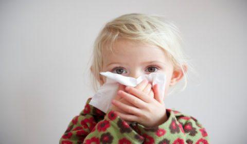 Насморк относится к числу типичных симптомов бронхита.