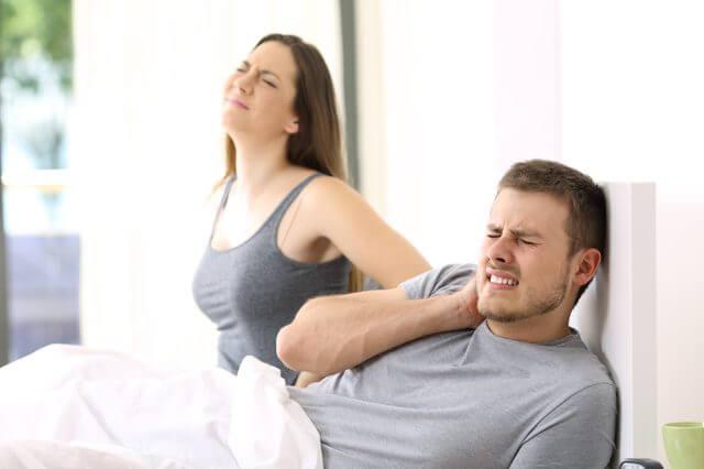 Причина боли в спине - неудобная кровать