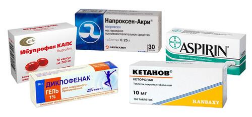 Нестероидные противовоспалительные средства при люмбаго с ишиасом