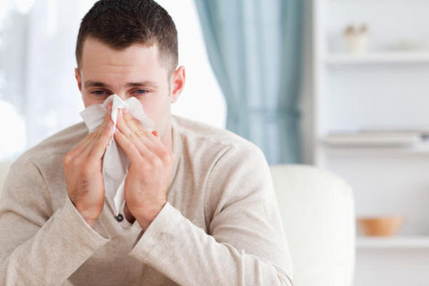 Обильное выделение мокроты при кашле.