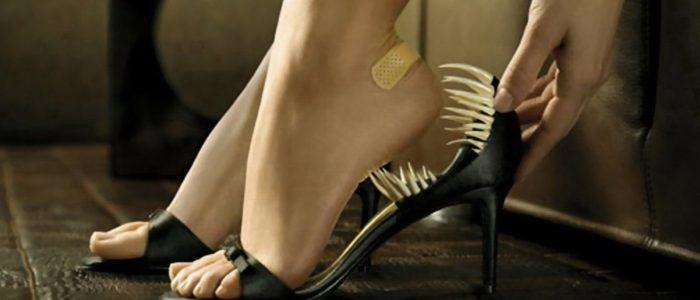 Обувь от шпор на пятках