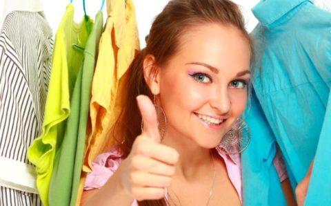 Одежда должна быть натуральной и удобной.