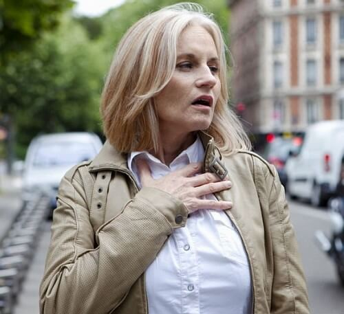 Нехватка воздуха при грудном остеохондрозе