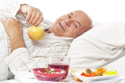 Что можно кушать при злокачественной опухоли лёгкого?