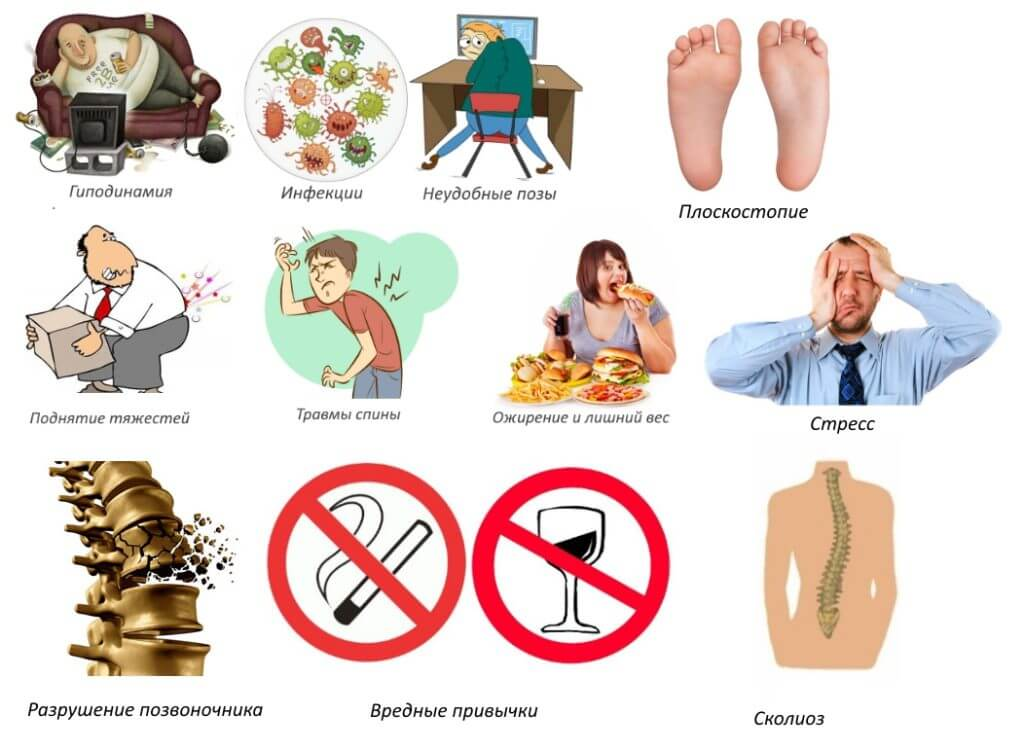 Факторы риска грыжи