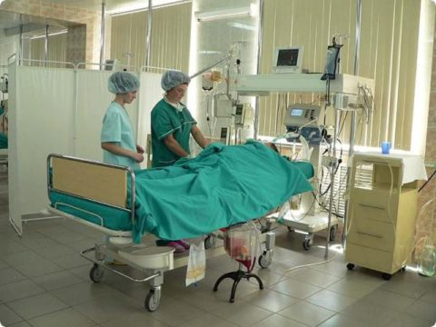 Отделение реанимации и интенсивной терапии