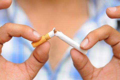 Отказ от курения.