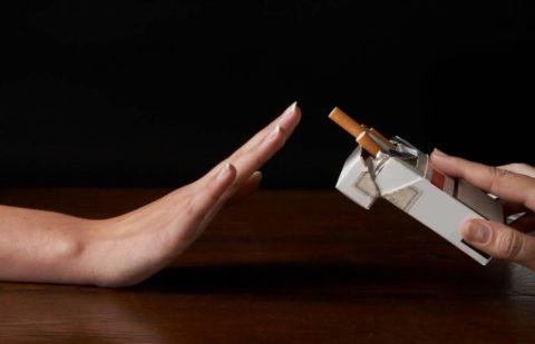 Отказ от курения снизит риск развития бронхита.