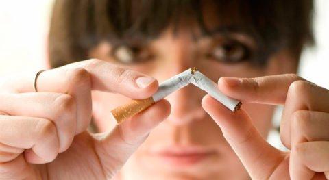 Отказ от сигарет первый шаг к выздоровлению.