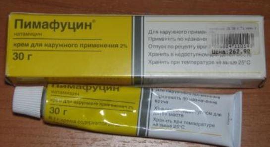 Лечение баланопостита у мужчин препаратами Пимафуцин