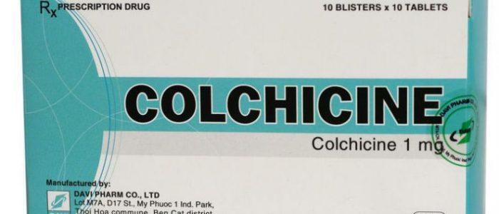 Колхицин от подагры