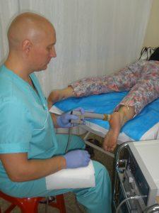 Лазерная терапия при пяточной шпоре