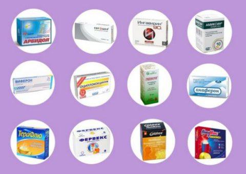 Препараты для лечения трахеобронхита