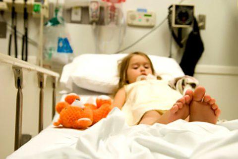 Маленьким пациентам рекомендована госпитализация.