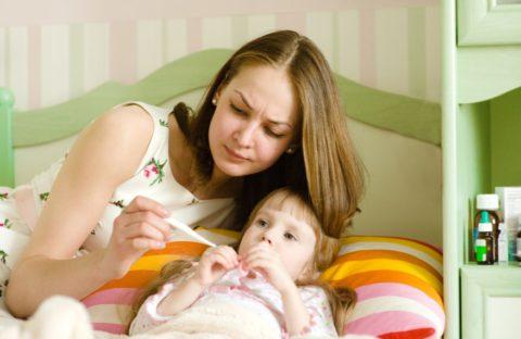 При пневмонии состояние ребенка может вызвать серьезные опасения