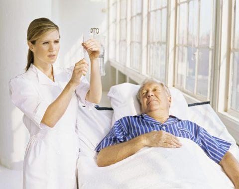 Пациента необходимо госпитализировать в специализированный стационар