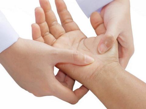 Проблемы с функциональными опциями после повреждения кости руки
