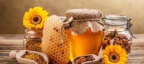 Продукты пчеловодства при бронхите.