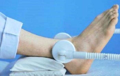 Прохождение курса физиотерапии для скорейшего восстановления