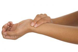 Гигрома на запястье руки