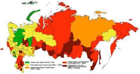 Распространенность заболевания в РФ остается высокой