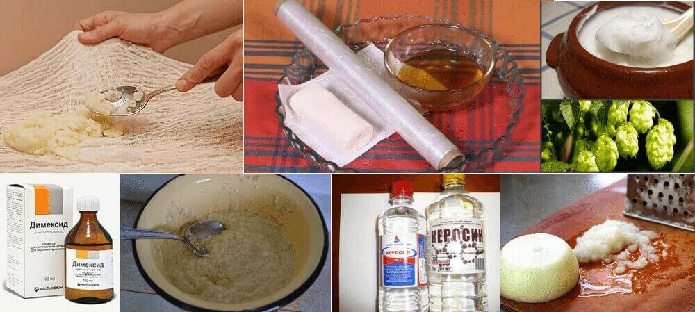 Народная медицина при остеохондрозе
