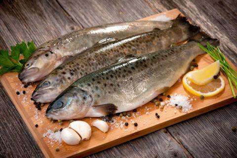 Рыба жирных сортов принесет пользу и поможет справиться с воспалительным процессом.