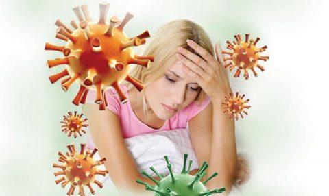 Снижение иммунных качеств.
