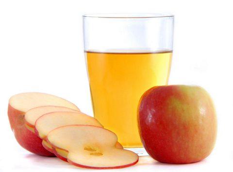 Сок яблока с медом