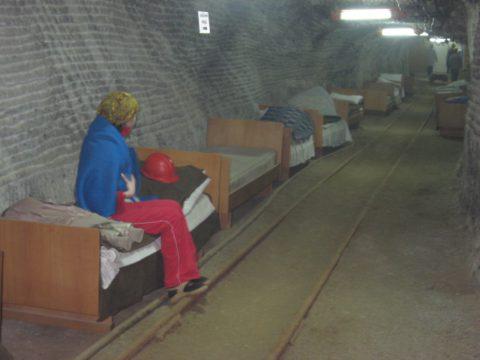 Соляная шахта для лечения дыхательный путей