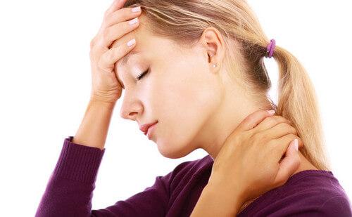 Спазм мышц шеи симптомы