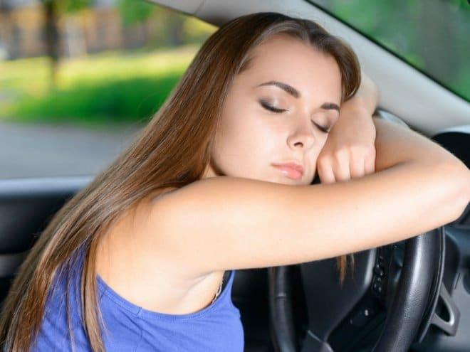 Сон за рулем — опасно