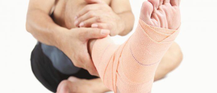 Надрыв сухожилия на ноге