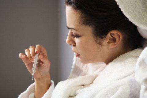 Температура при беременности – симптом пневмонии