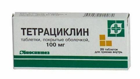Лечение сифилиса Тетрациклин