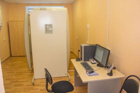 Типичный флюорографический кабинет