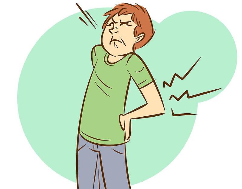 Травма спины -причина спазма
