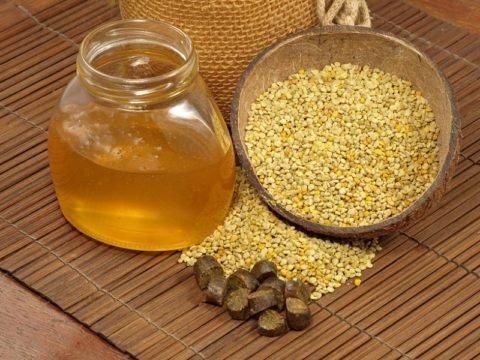 Целебные продукты пчеловодства.