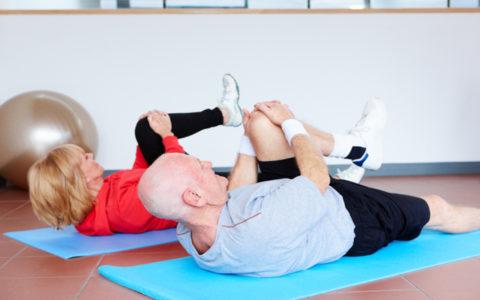 Упражнения ЛФК разрешается выполнять только после стабилизации состояния