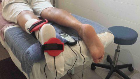 В период реабилитации после переломов показано физиотерапевтическое лечение.