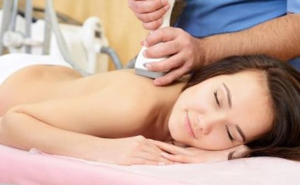 Вибрационный массаж при бронхите и пневмонии.