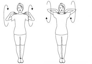 Зарядка против остеохондроза