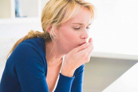 Выделение крови при кашле