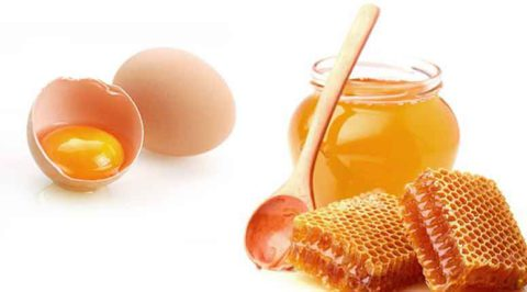 Яйцо с медом эффективно лечат бронхит